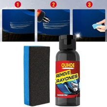 Car Paint Maintenance Scratch Repair Kit Polishing Care Wax Car Sratches Remover Automotive Body Ref