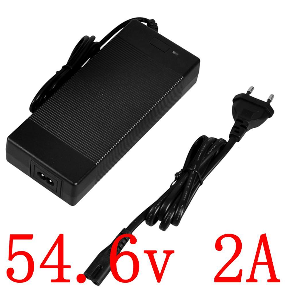 Freies Verschiffen 48V li-ion batterie 13S 48V 2A Ladegerät 54,6 V 2A lithium-Batterie Ladegerät 54,6 V 2A ladegerät