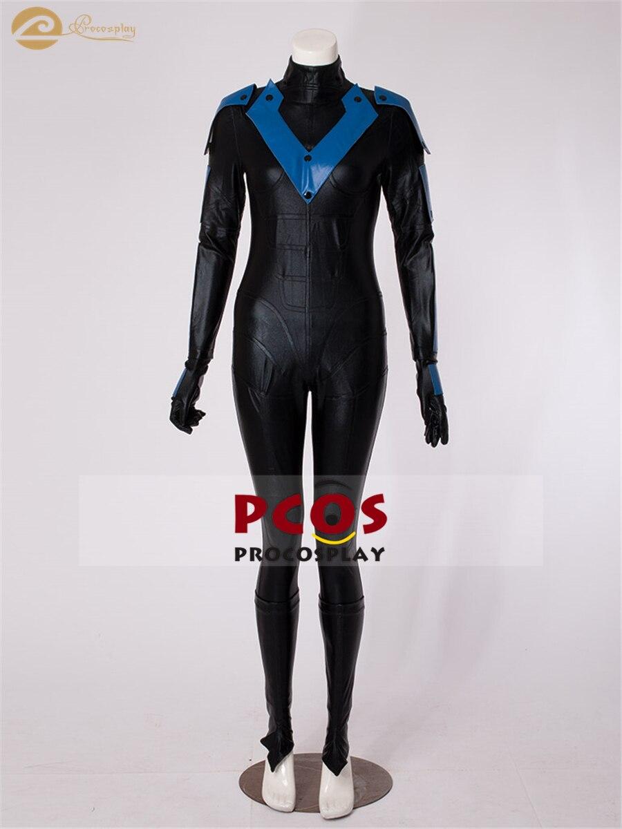 Batman Arkham City versión femenina Nightwing Cosplay disfraz mp002684