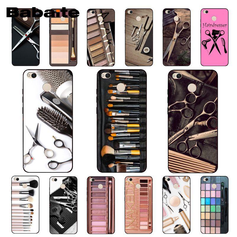 Babaite desnudo paleta Glam maquillaje herramientas de Palette para el cabello teléfono caso para Xiaomi Note3 mi5 6 A1 A2 Mi9 9SE mi8lite Mix2 2S Max2 3