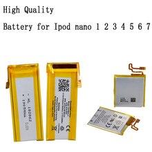 2021 Фирменная Новинка 3,7 V ионно литиевая Батарея Замена для Ipod Nano 1/2/3/4/5/6/7 MP3 литий полимерная перезаряжаемая внутренняя батарея Батарея