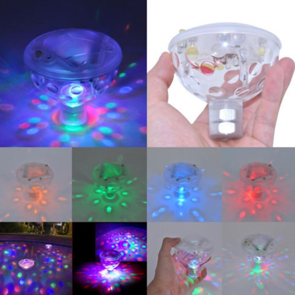Impermeable piscina luces flotante luz LED bajo el agua de la piscina jacuzzi lámpara para Spa piscina accesorios de decoración para fiestas