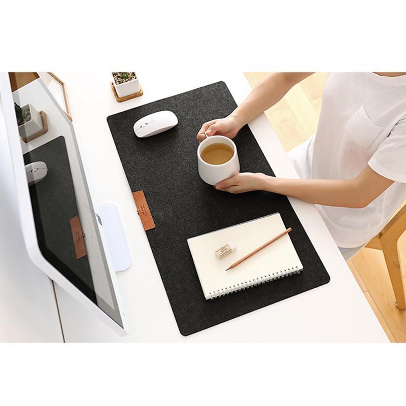 Tapis de souris de jeu Extra Large main tapis de clavier souple de grande taille anti-dérapant feutre PC ordinateur Gamer tapis de souris tapis de bureau tapis de clavier