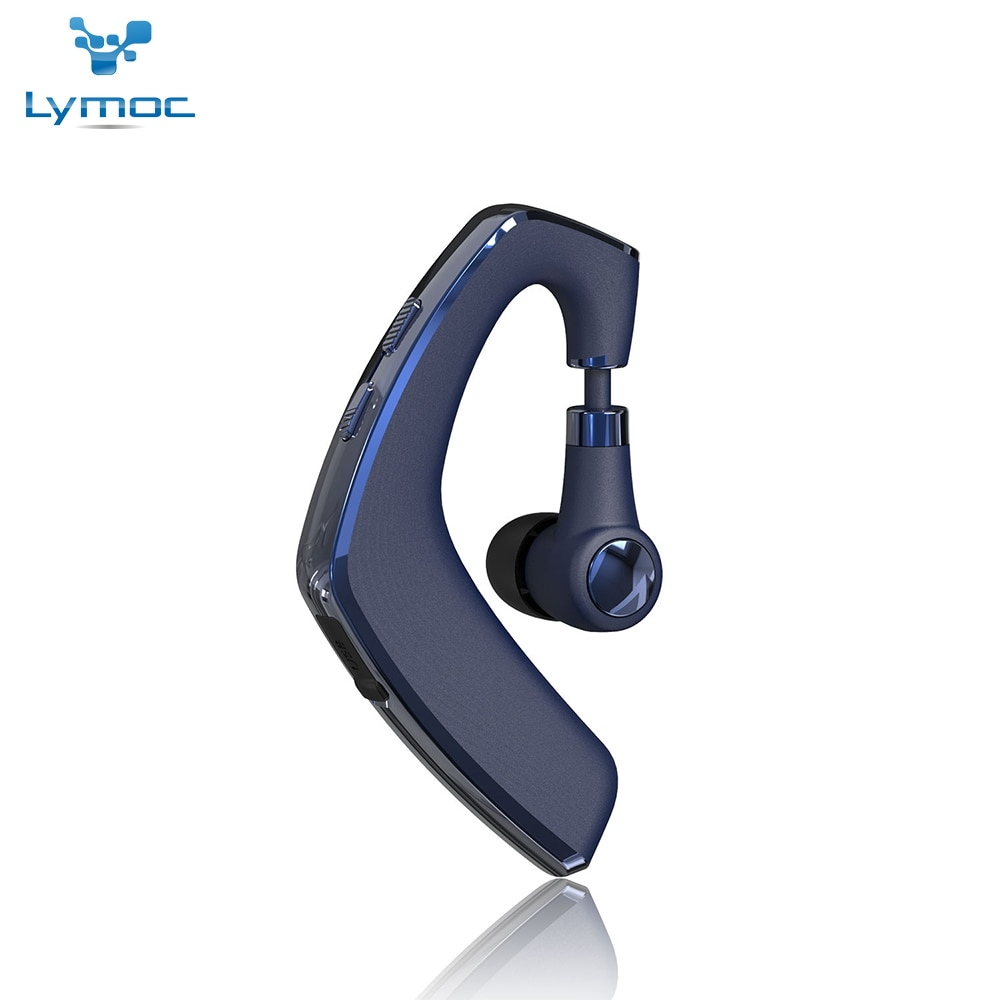 Lymoc Y8 auriculares Bluetooth manos libres gancho de oído inalámbrico CSR4.2 Control de voz música reproducir micrófono para iPhone XiaoMi Samsung