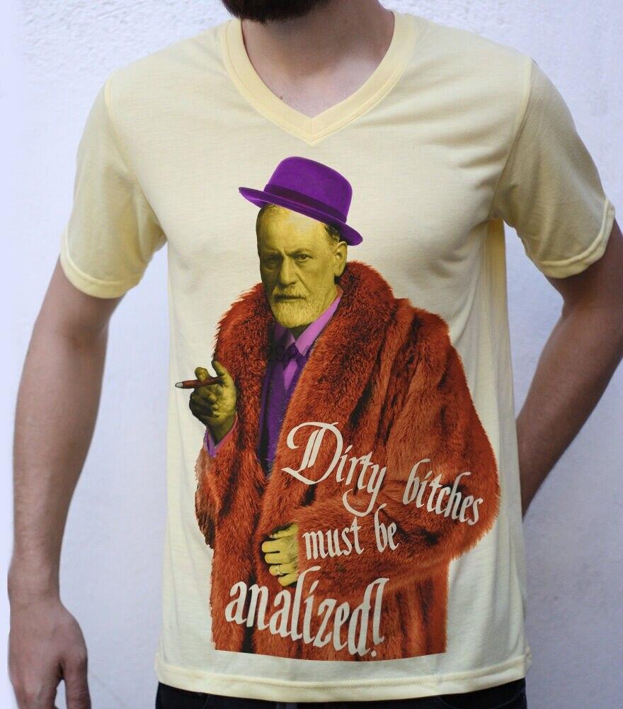 Camiseta Sigmund Freud, diseño de chulo, parodia