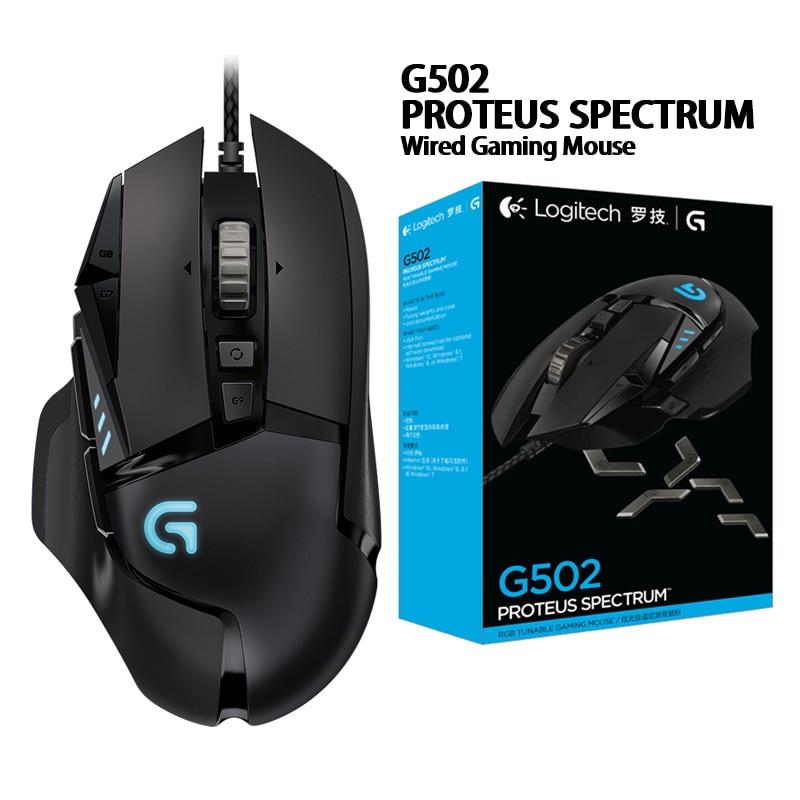 Logitech Serie Maus G403/G502/MX518/G402/G302/G102 Zweiten generation/G300s wired Gaming maus Desktop/ Laptop Gamer gaming pc