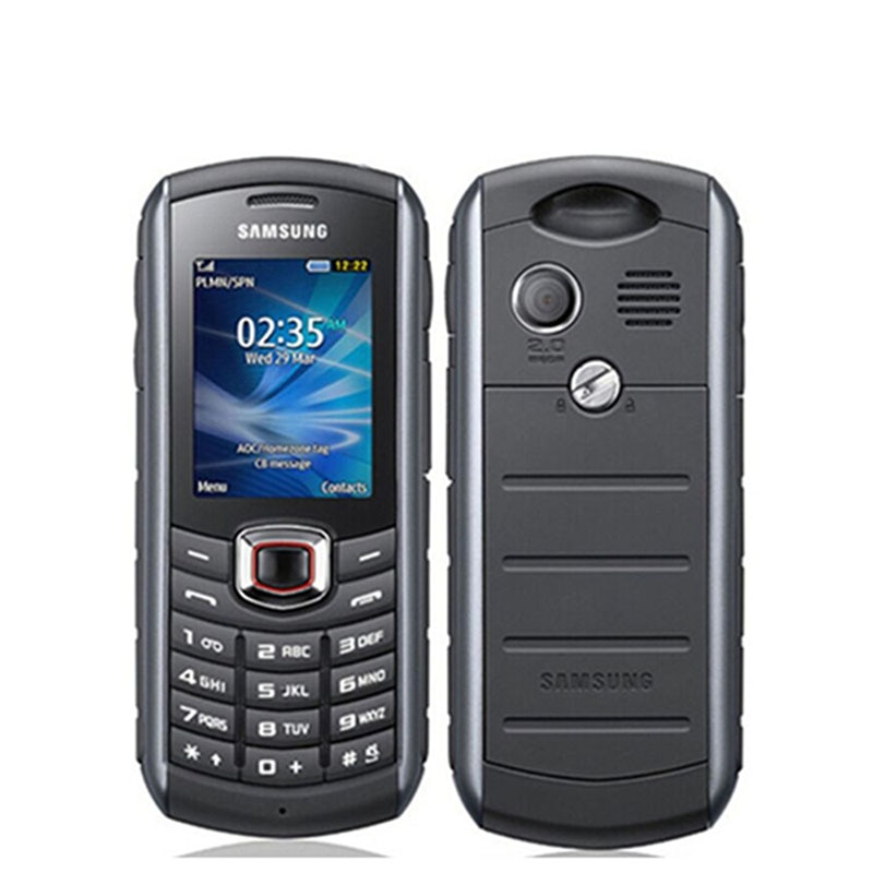 هاتف خلوي Samsung B2710 أصلي ، 3G مقاوم للماء ، مفتوح ، 1300 مللي أمبير ، 2 ميجابكسل ، GPS ، 2.0 بوصة ، هاتف محمول مستعمل (توصيل سريع)