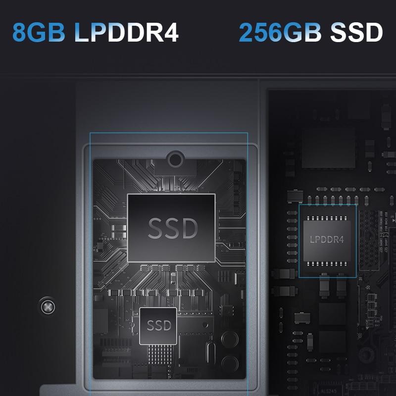 BMAX Y13 360° Laptop 13.3 inch Notebook Windows 10 8GB LPDDR4 256GB SSD 1920*1080 IPS Intel N4120 touch screen laptops 6