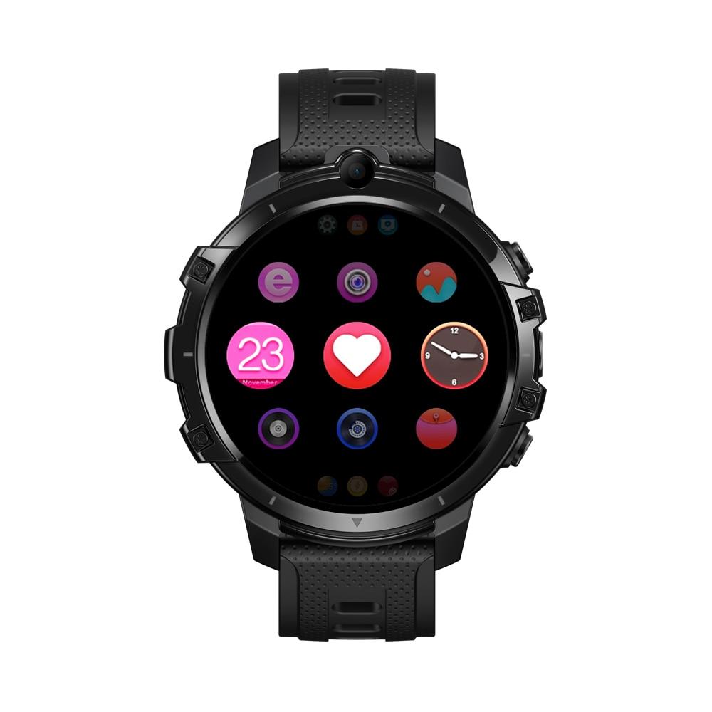 [4G RAM+64G ROM] Zeblaze THOR 6 Android 10 OS Face Unlock WIFI GPS 4G LTE Global Bands 4G Smart Watch Phone Smartwatch Men
