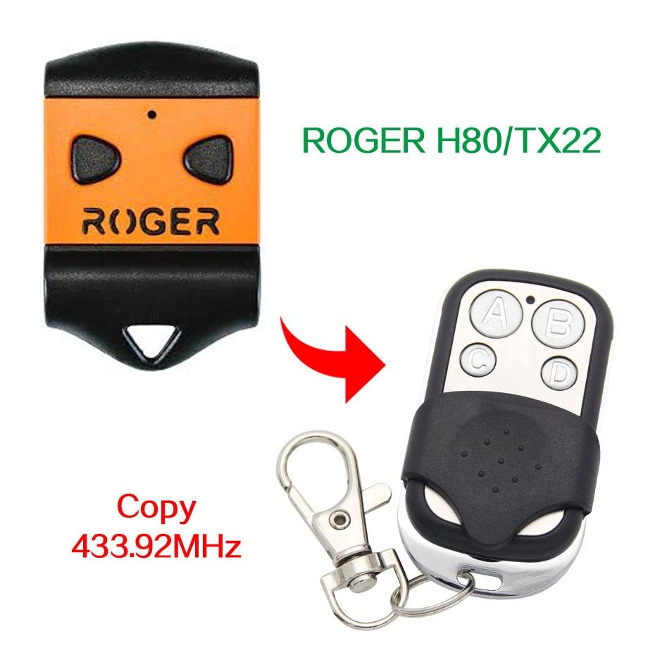 Control remoto de 433,92 mhz de control remoto para puerta de garaje con batería