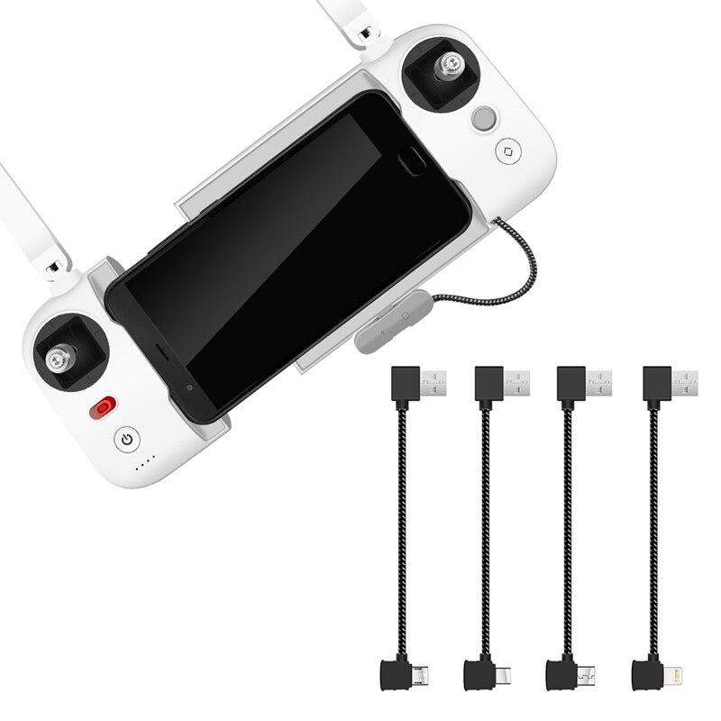 Transmisor de Control remoto USB Cable de datos conectado línea IOS/Android/Tipo C para FIMI X8 SE RC Drone