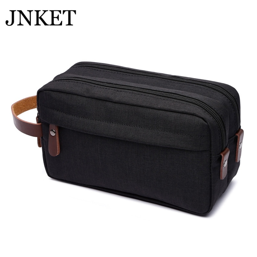JNKET New Travel Portable Storage Bag Cosmetic Bag Waterproof Fabric Makeup Case Large Capacity Handbag Tote Bag portable waterproof digital slr camera large capacity storage bag shoulder bag carrying case bag universal for cameras