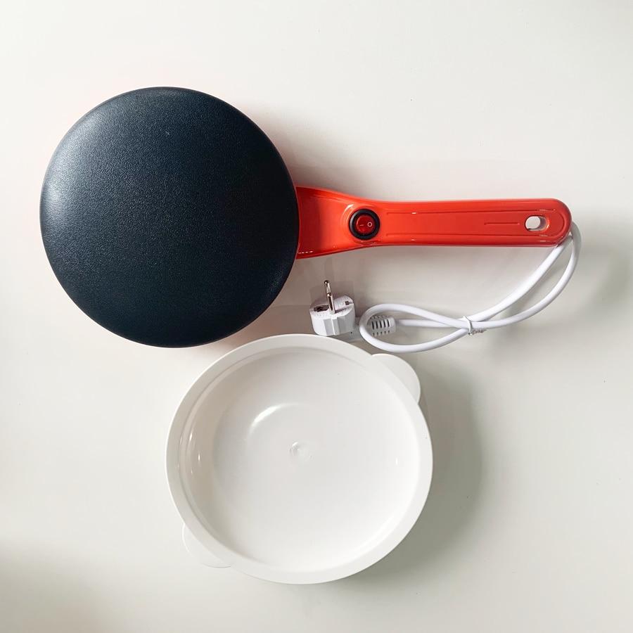Электрическая блинница, машина для завтрака, пиццы, сковорода для выпечки блинов, тортов, антипригарная сковорода, китайские весенние рулоны, инструменты для приготовления пищи, ЕС