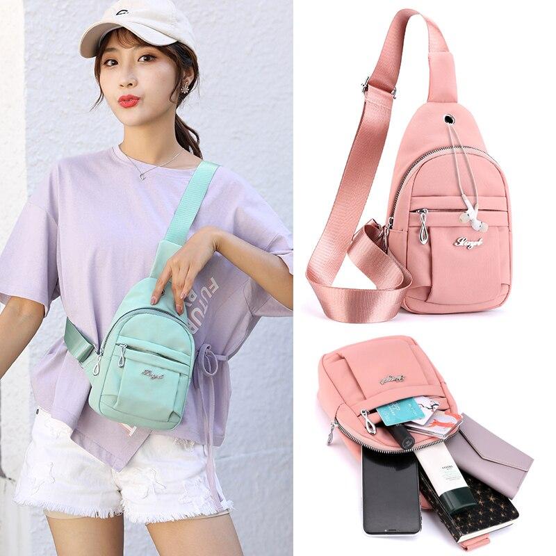 New running wallet fashion women's sports chest bag wallet phone bag belt bag small mini shoulder Messenger bag