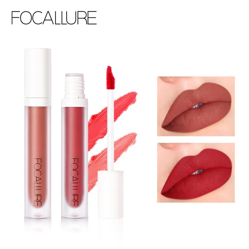 FOCALLURE 9 Colors High Shine Lip Gloss Nourish Soft & Smooth Lip Makeup non-Sticky formula Lipgloss