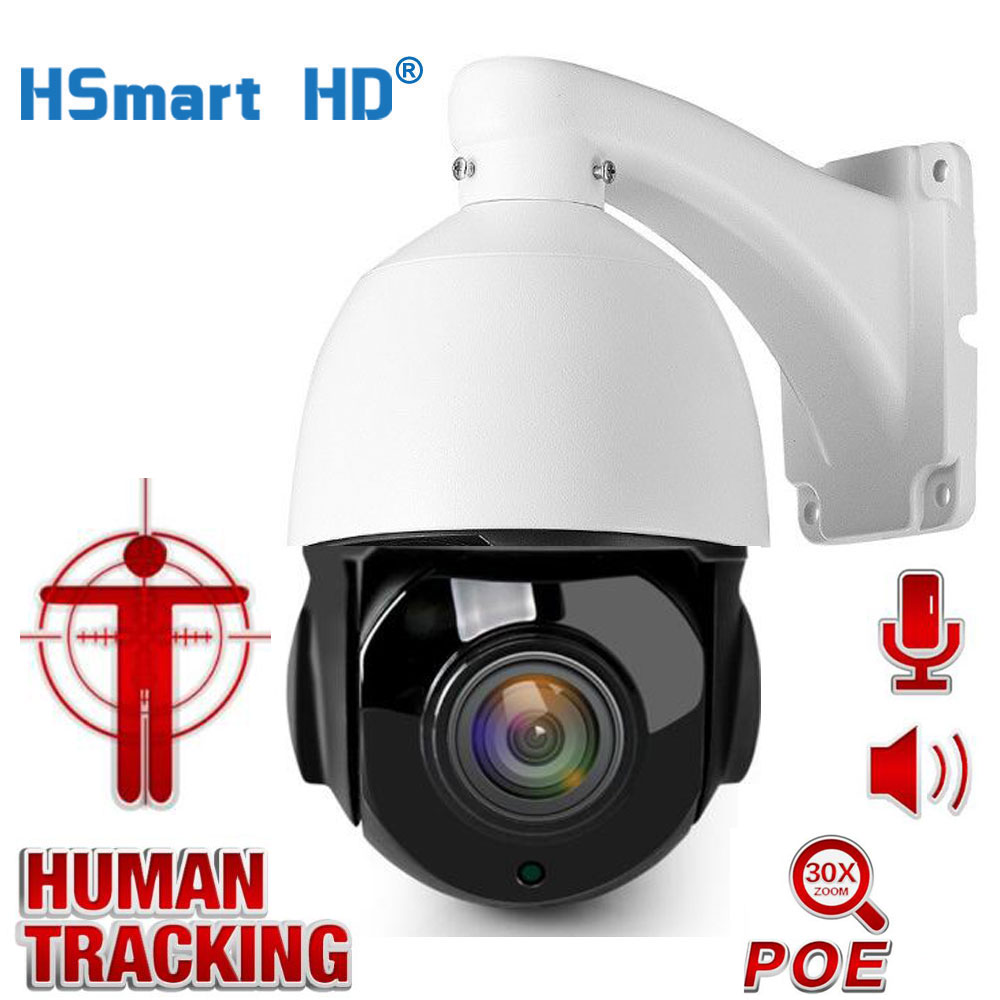5MP CCTV Surveillance AI Auto Tracking 2MP POE PTZ IP Camera Two Way Audio 30X Zoom 1080P H.265 Outdoor Cameras IR 80M ONVIF 1080p 5mp ptz ip camera indoor onvif 10x zoom mini high speed dome ceiling camera 2mp h 265 ir 30m p2p cctv surveillance camera