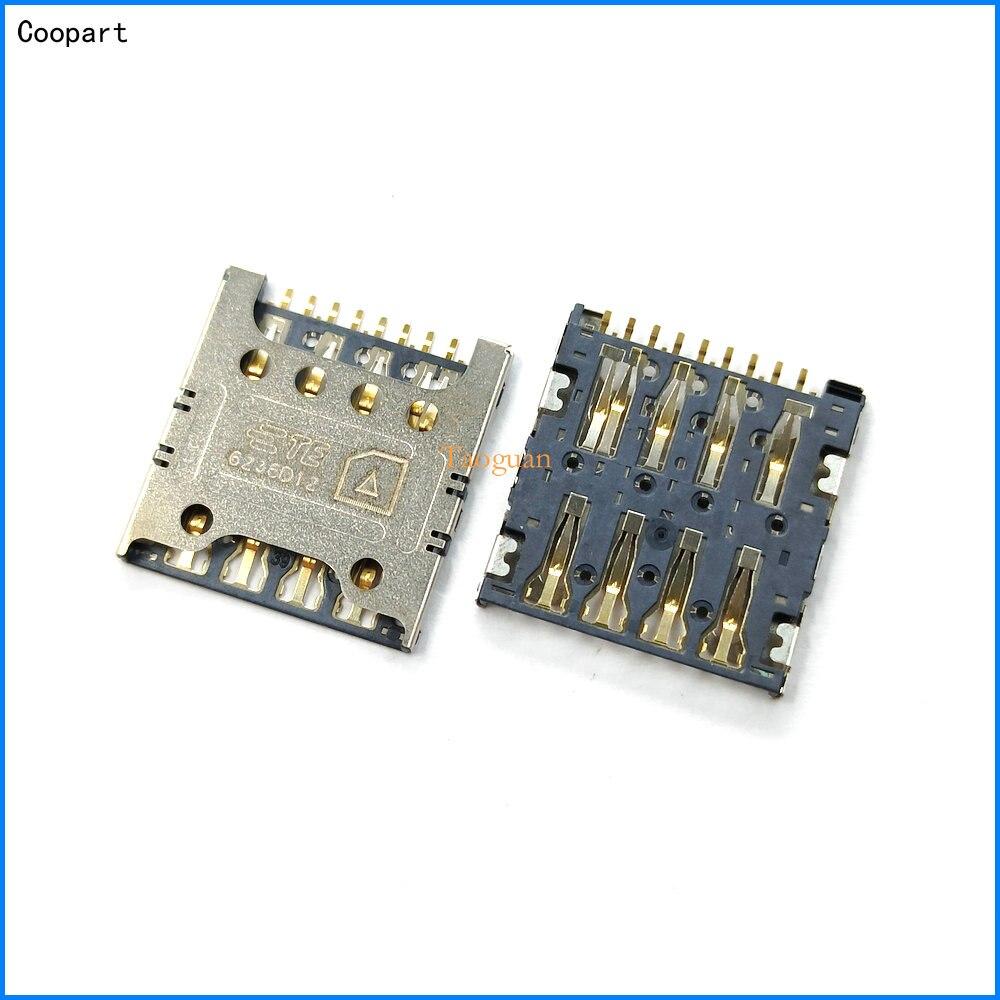 2 шт./лот Coopart новое гнездо для sim-карты, слот для карт для LG G3 mini G3 S G3 Beat D722 D728 D725 D724 D722K F350LKS D858 D857