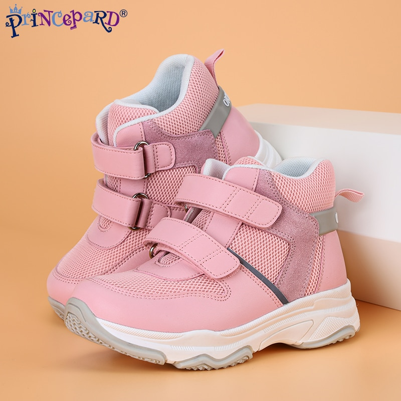 Princepard Kids Orthopedic Sneakers Shoes with Arch Support Fat Foot Insoles Autumn Spring Boys Girls Sport Running Casual Shoes enlarge