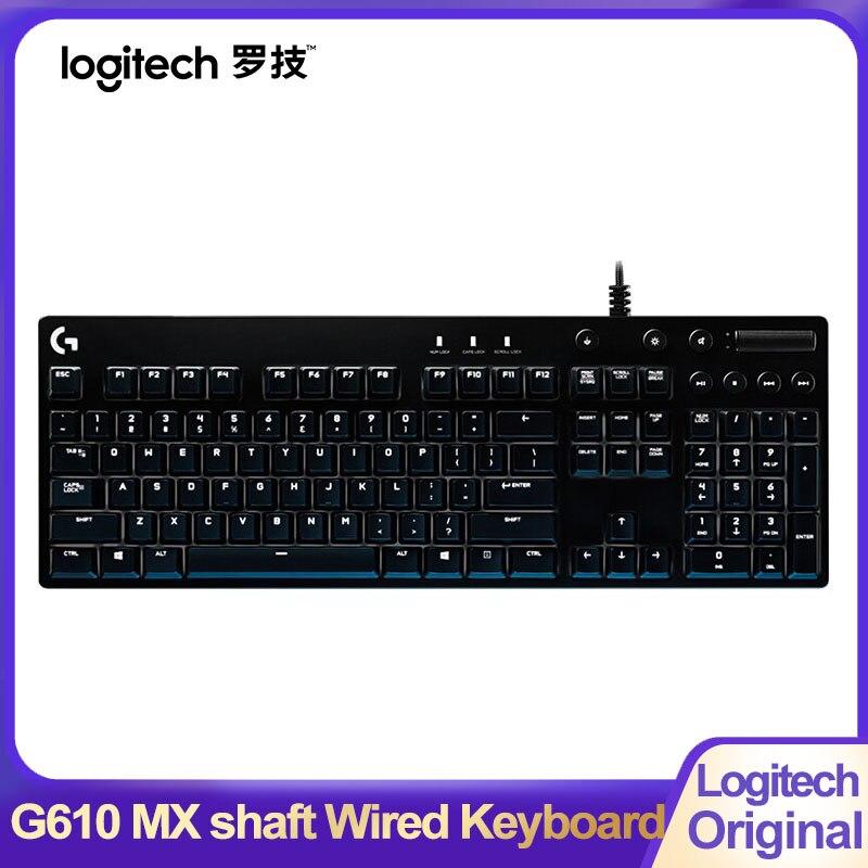 لوجيتك G610 MX رمح السلكية لوحة مفاتيح الألعاب الميكانيكية USB RGB الخلفية الأحمر/الأزرق التبديل للكمبيوتر سطح المكتب كمبيوتر محمول الألعاب لوحة ...