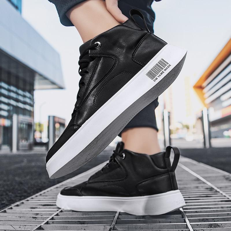 Zapatos Casuales الفقرة Hombre أحذية من الجلد عارضة الرجال للرجال رياضة حقيقية الأخفاف المنزل الأحذية