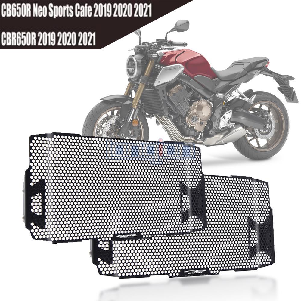 دراجة نارية المبرد الحرس حامي مصبغة غطاء الشواية CB 650R CBR 650R لهوندا CBR650R CB650R Neo Sports Cafe 2019-2021 2020