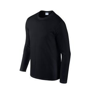 2020 European and American round neck popular long sleeve t-shirt men's pure cotton sports blank simple thin style sports wear