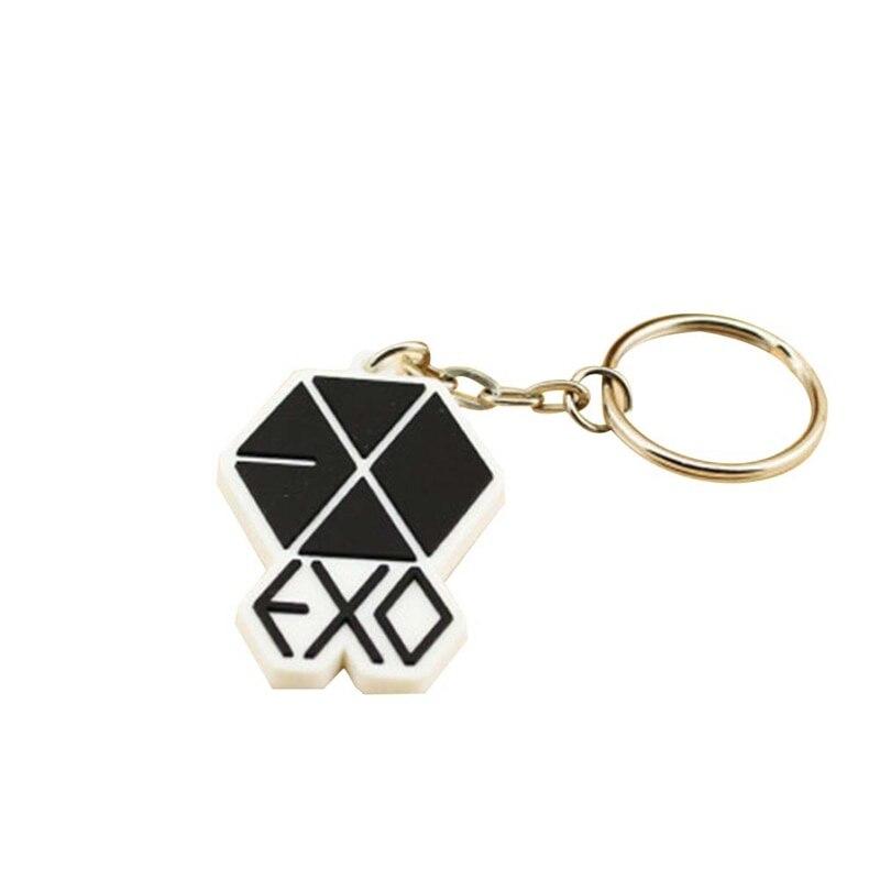 Chegam novas Resina Sintética EXO Logotipo Chaveiro Chaveiro Key Holder