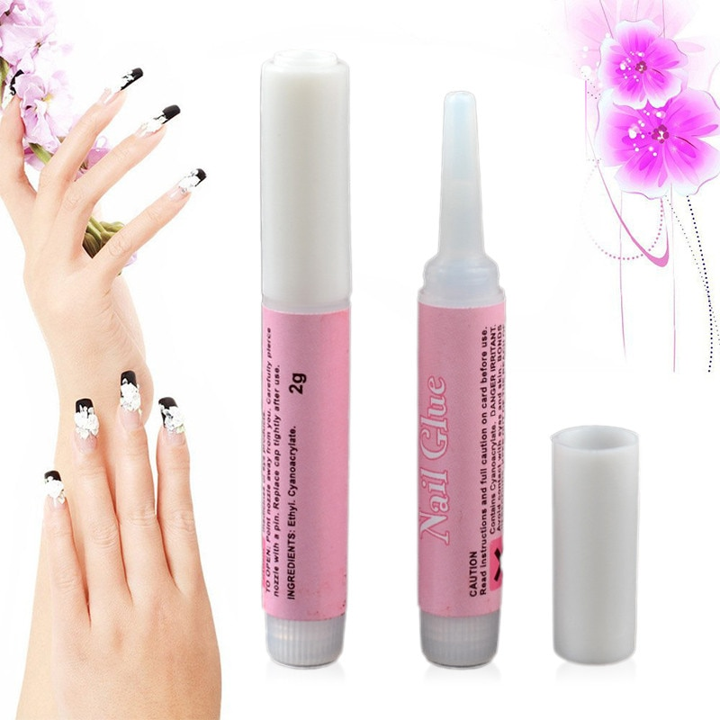 Mini Beauty Professional Nail Glue Decorate False Nail Tips Acrylic Glue Nail High Quality Transpare