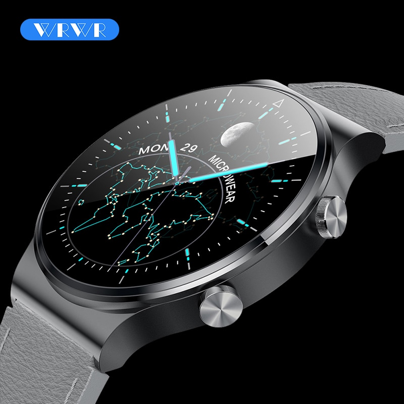 WRWR 2021 Smart Watch Men Bluetooth Call Watches Smartwatch Waterproof Fitness Bracelet Tracker For Apple Huawei Xiaomi Android