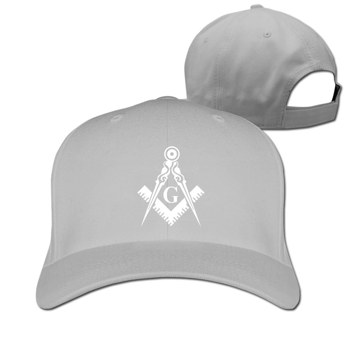 Gorra de béisbol ajustable Unisex de masón, gorra de béisbol lisa, gorra de béisbol de Golf