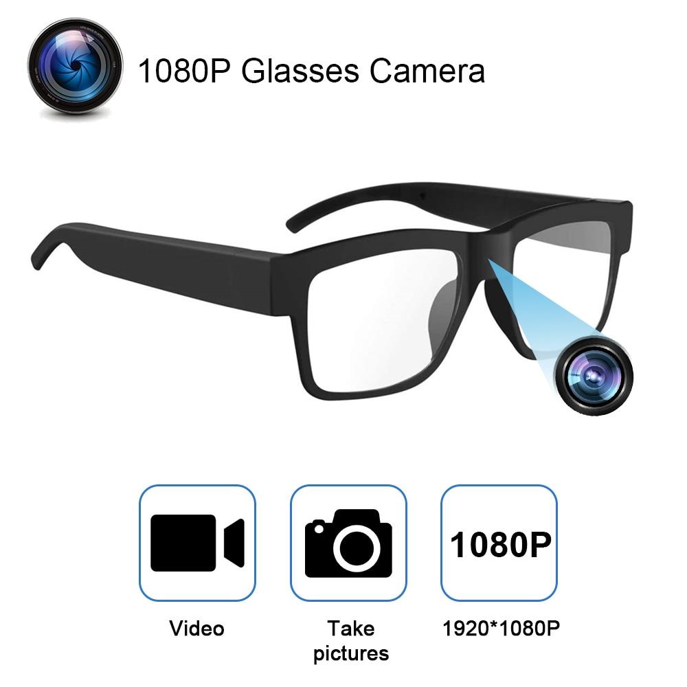 1080P HD كاميرا فيديو صغيرة كاميرا فيديو القيادة سجل نظارات الدراجات نظارات ذكية الفيديو مع نظارات كاميرا الفيديو للكاميرا في الهواء الطلق