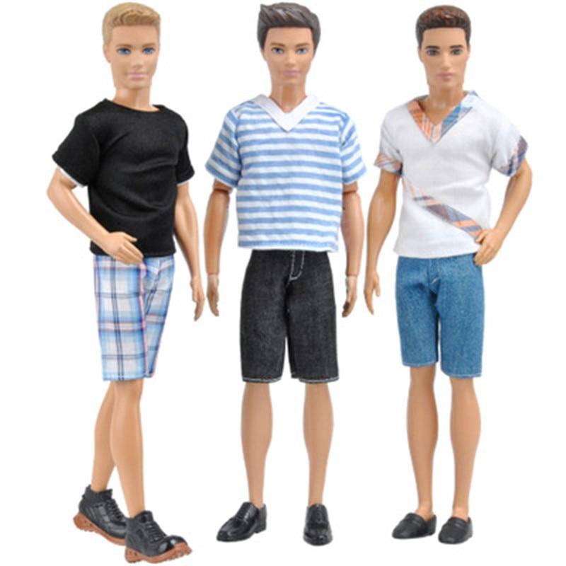 Кен бойфренд Кукла наряд комплект платье одежда аксессуары игровой дом переодевание костюм детские игрушки подарок