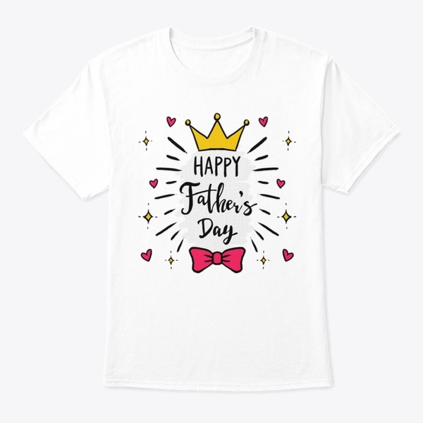 t shirt diy Fathers Day HAPPY Fathers Day T-shirt DIY T Shirt For Men
