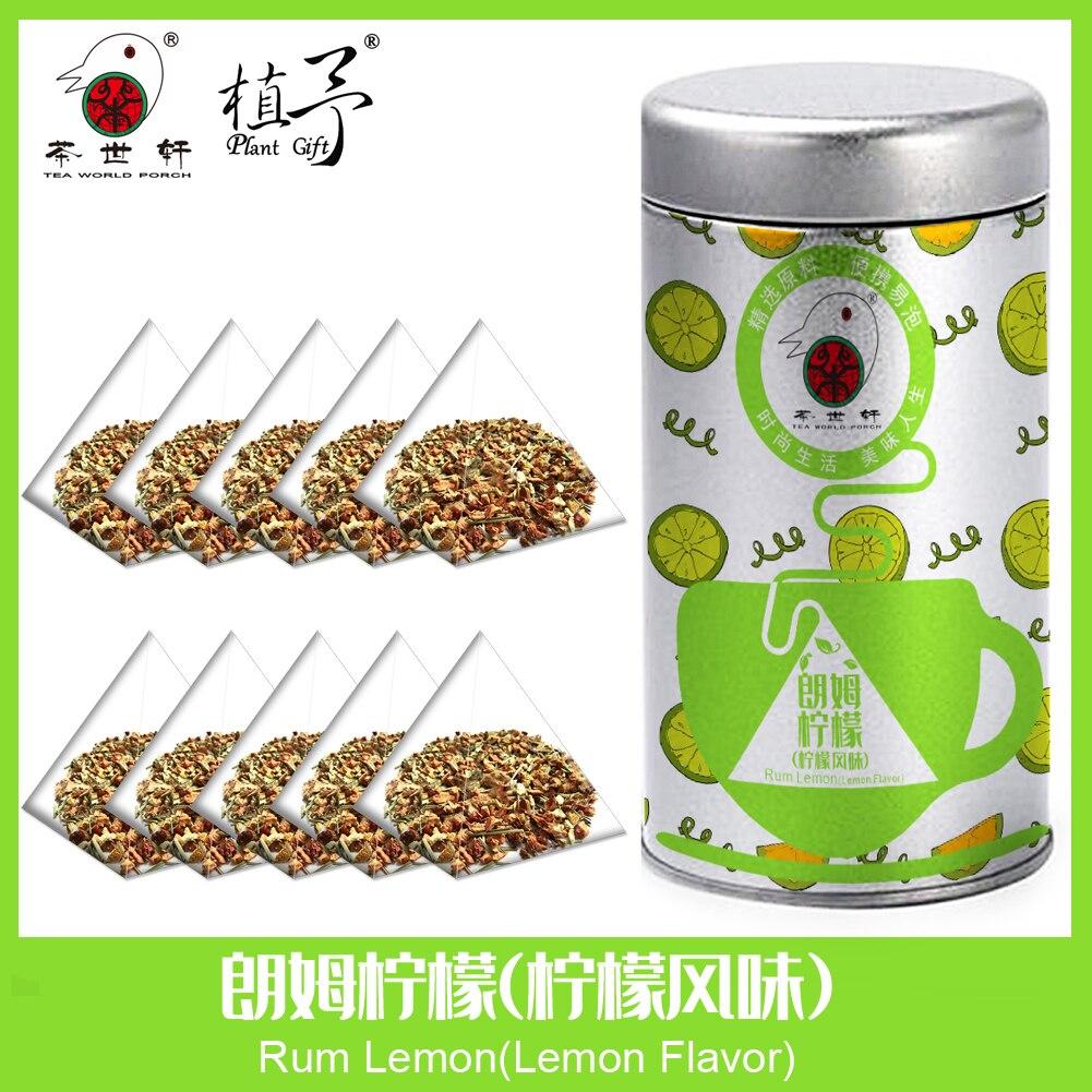 3g*10pcs Rum Lemon(Lemon Flavor) Skin Care Mask DIY Raw Materials Tea Bag Detox Tea Acne Treatment  Anti-Aging  Moisturizing
