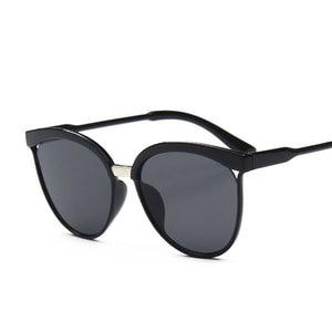 Big Box Sunglasses European and American New Trend Fashion Sunglasses Women Bright Glasses Black Eyebrows Handsome Look Glasses