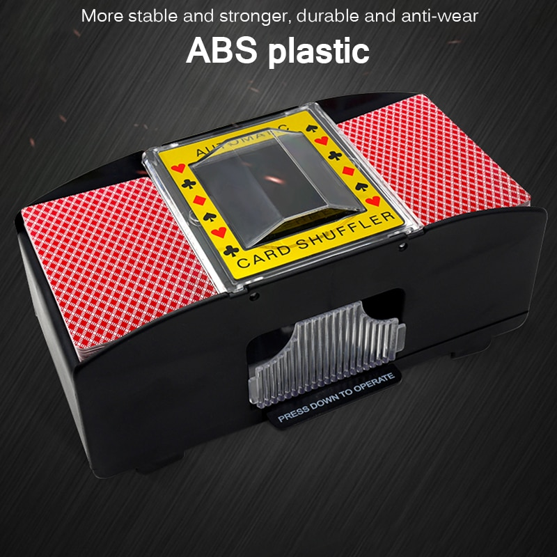 Juego de cartas de póquer eléctrico automático juego de cartas Shuffler juego de cartas máquina de barajado automático juego de cartas