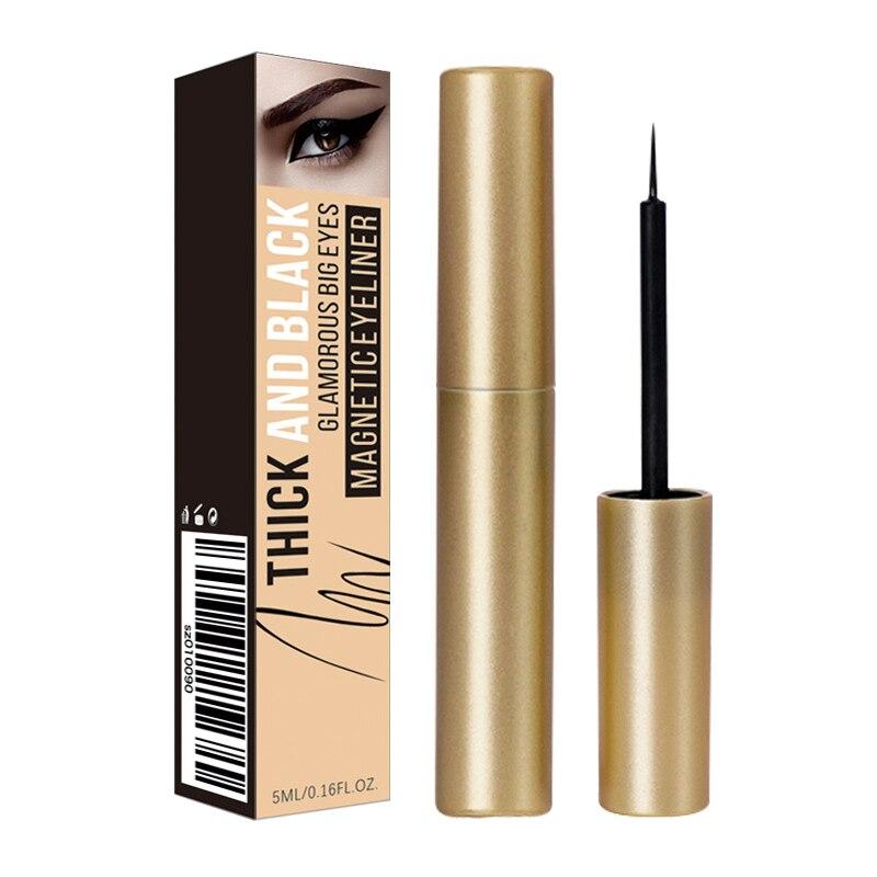 Lápiz Delineador de ojos líquido magnético, resistente al agua duradero delineador de ojos, maquillaje profesional, delineador de ojos para pestañas postizas magnéticas TSLM1