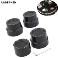 black front rear axle nut cover caps rough craft carving cnc for harley sportster xl 883 touring road king softail dyna v rod