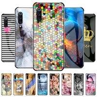 phone case for xiaomi mi 9 case for xiaomi mi 9 m1902f1g mi9 heart tpu bag tempered glass cover pattern funda shockpro of coque
