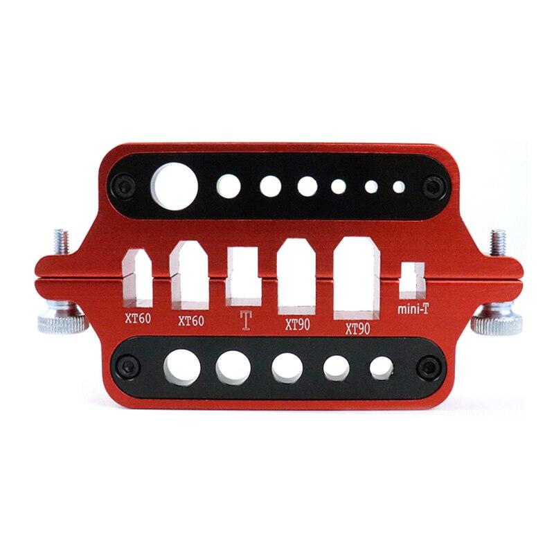 Liga de Alumínio Estação de Solda Plug para Pcb Nova Multifuncional Isolamento Solda Banana Placa Montagem Ferramentas Xt60 – Xt90