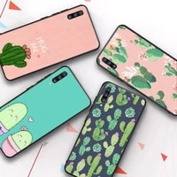 cactus vintage flower phone case for samsung galaxy a51 30s a71 soft silicone cover for a21s a70 10 a30 capa