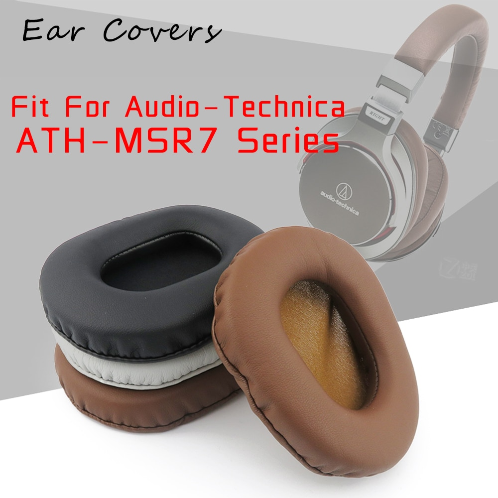 Ear Covers Ear Pads For Audio Technica MSR7 Sereis ATH-MSR7 Headset Replacement Earpads Ear-cushions