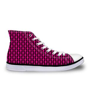 HaoYun Fashion Women's Canvas Shoes 3D Woven Pattern Girls High-Top Vulcanize Shoes Flats Female Mujer Comfortable Casual Shoes