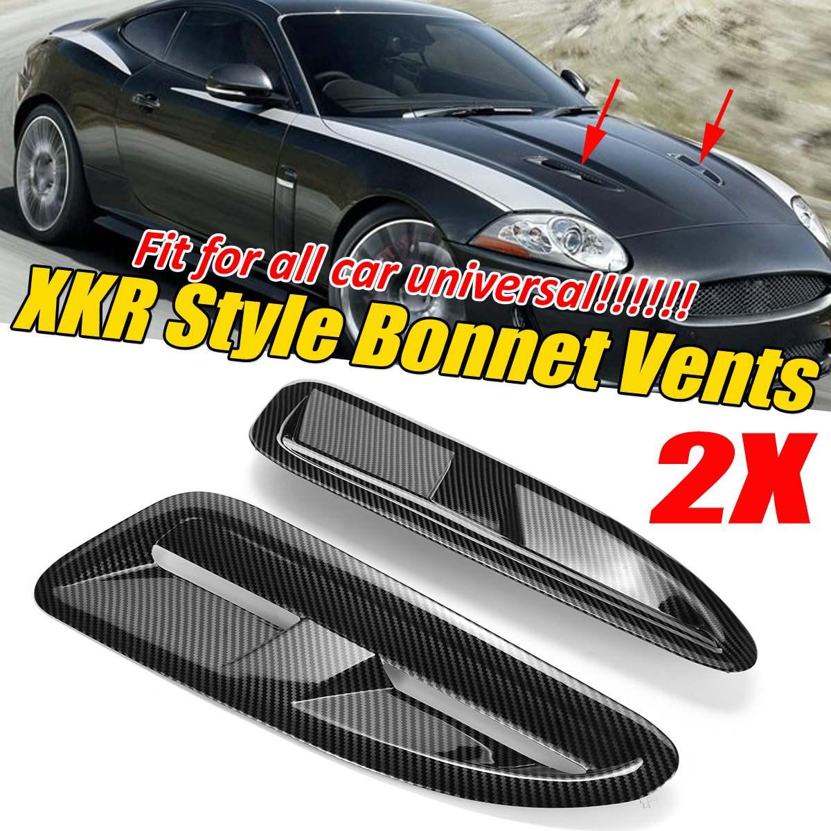 ABS coche universal capó de ventilación delantera para Jaguar XKR/XK8 para BMW F10/F11 para Benz W205 W204 para VW Golf MK5 MK6 MK7 para Ford