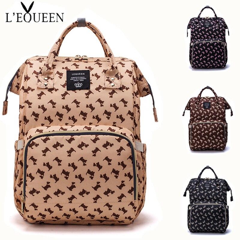 [Tienda oficial LEQUEEN] bolso para pañales, mochila para el cuidado del bebé para mamá, bolsa mojada de maternidad, bolsa para embarazada impermeable para bebé