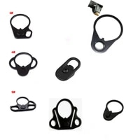 suitable for ar 15 m4 m16 airsoft rifle sling plate mounting adapter black quick detachable sling rotating hook mounting adapter