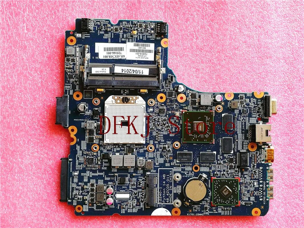 48.4ZC05.011 ل HP Probook 455 445 G1 اللوحة المحمول 722818-001 722818-501 الأم مجلس DDR3 100% اختبار