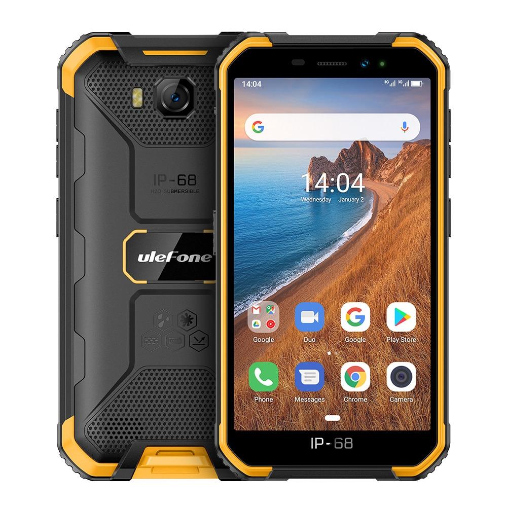 Ulefone Armor X6 смартфон с четырёхъядерным процессором, ОЗУ 2 Гб, ПЗУ 16 Гб, Android 9,0, 4000 мАч, 8 МП