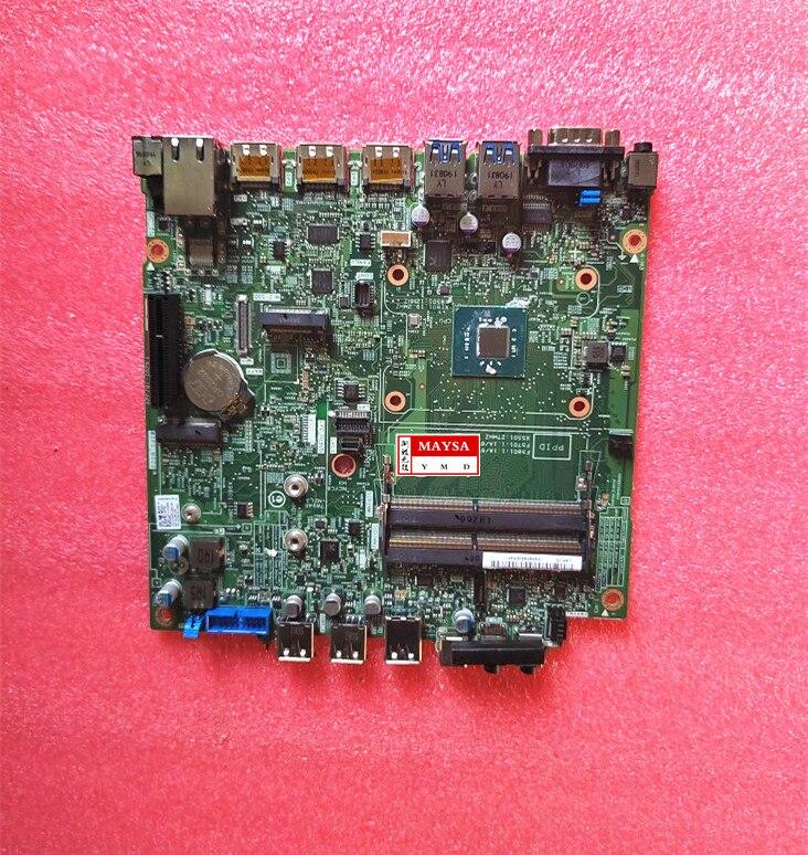 [해외] KJ0XX 0KJ0XX DELL Wyse 5070 씬 클라이언트 마더 보드 16561-1 WWVX3 J5005CPU 16G eMCC 메인 보드 100% 테스트 작동