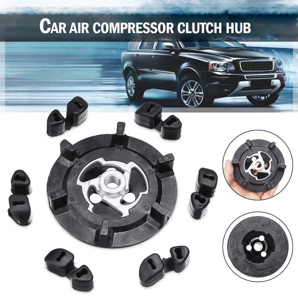 Condicionador de ar do carro a/c auto compressor de ar embreagem hub borracha para 5se09c 5sl12c 5seu12c 6seu14c 6seu17c 7seu17c frete grátis